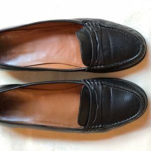 Bally black moccasins